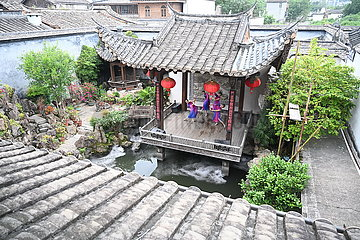 CHINA-FUJIAN-FUZHOU-LIVESTREAMING-TOURISM (CN)