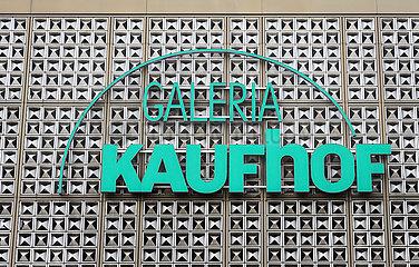 Galeria Kaufhof  Filiale Kettwiger Strasse  Essen  Nordrhein-Westfalen  Deutschland
