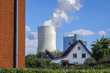 Kraftwerk Datteln 4  Uniper Steinkohlekraftwerk  Datteln  Ruhrgebiet  Nordrhein-Westfalen  Deutschland