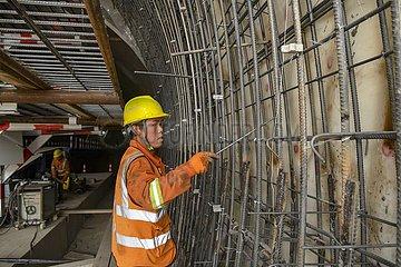 CHINA-XINJIANG-HEJING-TUNNEL-CONSTRUCTION (CN)
