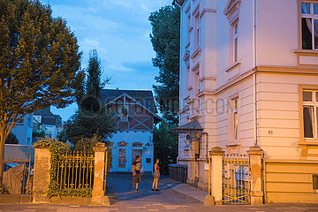 Hof- und Hauseingang