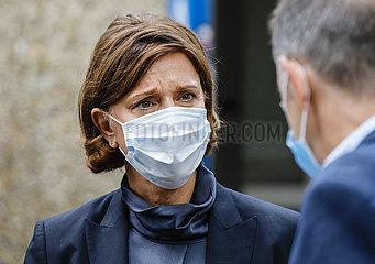 NRW-Schulministerin Yvonne Gebauer  Duesseldorf  Nordrhein-Westfalen  Deutschland