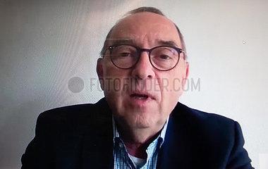 Online Pressekonferenz mit Norbert Walter-Borjans