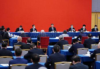 (Zwei Sitzungen) CHINA Beijing-XI jinping-PKKCV-JOINT PANEL DISKUSSION (CN)