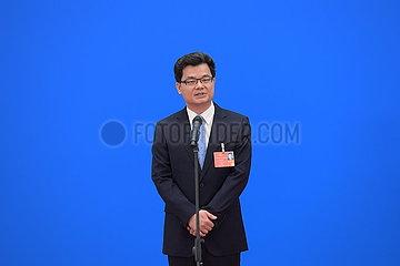 (TWO SESSIONS-Foto Insight) CHINA-PEKING-NPC-ABGEORDNETEN (CN)