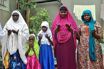 UGANDA-Wakiso-COVID-19-Eid al-Fitr