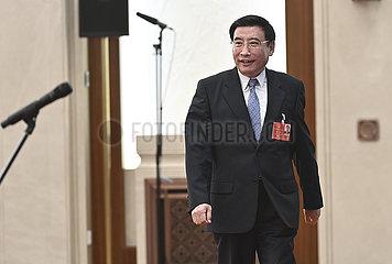 (Zwei Sitzungen) CHINA Beijing-NPC-MINISTERS-Interview (CN)