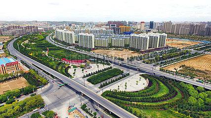 CHINA-SHAANXI-YULIN Aufforstung (CN)