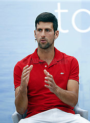 (SP) SERBIEN-BELGRAD-TENNIS-Novak Djokovic-PRESS