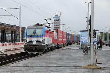 SERBIENS-BELGRADER-COVID-19-FREIGHT TRAIN-China (5)