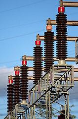 Deutschland  Bremen - Umspannwerk des regionalen Energieversorgers Wesernetz Bremen Gmbh  Teil von swb