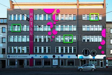 Deutschland  Bremen - Wegen Corona leeres Hotel in der Innenstadt