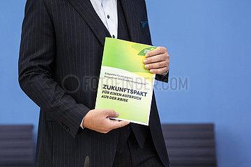 Bundespressekonferenz der Gruenen
