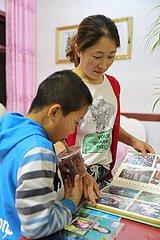 CHINA-GANSU-ARMUTSBEKÄMPFUNG-FAMILY REUNION (CN)