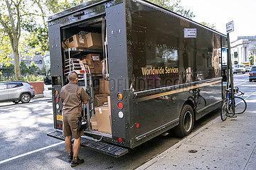 UPS Paketzustellung