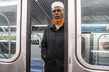 Muslime Fahrgast