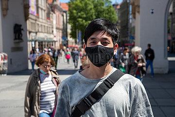 Corona Virus: Portraits in München