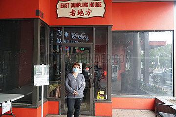 US--ROCKVILLE-COVID-19-SPERRE-chinesische Restaurants