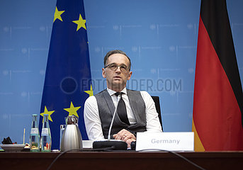 Virtuelle informelle Tagung des EU Aussenrats