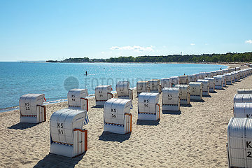 Timmendorfer Strand  ruhe vor dem Pfingstwochenende
