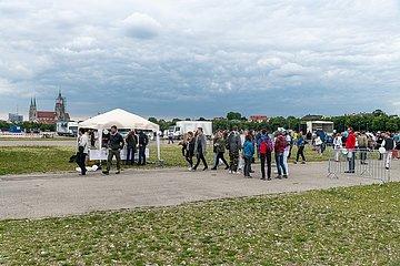 Coronaproteste auf der Münchner Theresienwiese