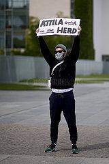 Anti Attila Hildmann Corona - Protest