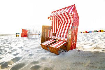 Strand waehrend der Coronakrise