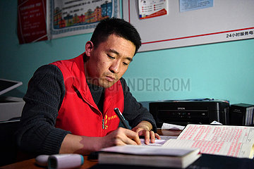 CHINA-TIANJIN-COVID-19-Amtsgemeinschaftliche SERVICE (CN)