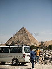 ÄGYPTEN-GIZA-COVID-19-FÄLLE