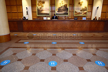 ÄGYPTEN-KAIRO-COVID-19-HOTEL WIEDERERÖFFNUNG