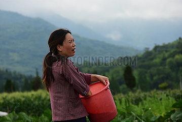 CHINA-ZHEJIANG-RUIAN-RURAL LIFE-CHOREOGRAPHY (CN)