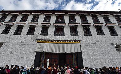 CHINA-TIBET-LHASAS-Potala-REOPEN (CN)