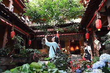CHINA-YUNNAN-QIUBEI-RURAL ECONOMY-TOURISM (CN)