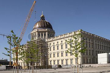 Baustelle Berliner Schloss
