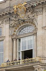 Balkon des Schlossportals IV