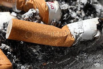 Berlin  Deutschland  Zigarettenstummel