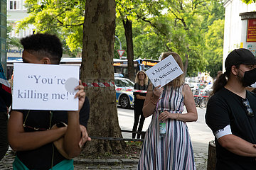 Black Lives Matter Kundgebung in München