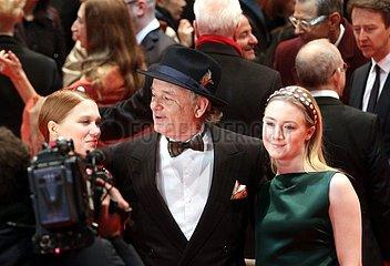 Bill Murray mit anderen Stars auf der 64. Berlinale