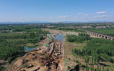 CHINA-HEBEI-RUSSIA-EAST-Erdgas-Pipeline-Bauweise (CN)
