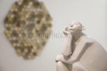 Ausstellung 30 Jahre Kuenstlerbund Dresden - 60 Perspektiven   Staedtische Galerie Dresden