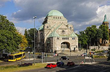Alte Synagoge  Essen  Ruhrgebiet  Nordrhein-Westfalen  Deutschland
