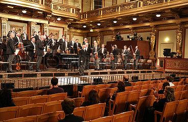 ÖSTERREICH-WIEN-COVID-19-WIEN-PHILHARMONIKER erstes Konzert ÖSTERREICH-WIEN-COVID-19-WIEN-PHILHARMONIKER ersten Konzert