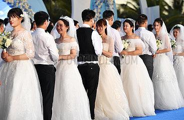 CHINA-HAINAN-SANYA-CORONAVIRUS FIGHTERS-GROUP Hochzeit (CN) CHINA-HAINAN-SANYA-CORONAVIRUS FIGHTERS-GROUP Hochzeit (CN)