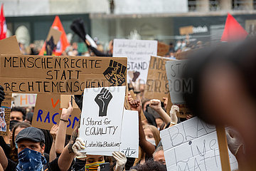 Black Lives Matter in München