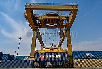 BRI ZUSAMMENARBEIT-CHINA-EUROPE-Güterzug COVID-19-zuverlässiger Transport CHANNEL