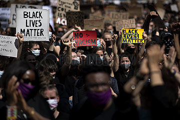 Black Lives Matter - Tribute To George Floyd