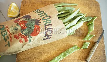 Gruene Bohnen