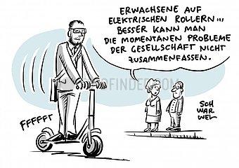 Todesf?lle : E-Scooter sind ein sicheres Verkehrsmittel