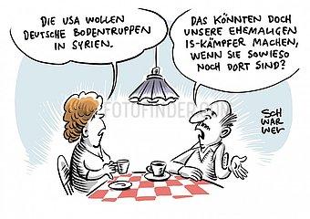 Anti-IS-Einsatz : USA fordern deutsche Bodentruppen f?r Syrien