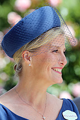 Royal Ascot  Portrait of HRH Sophie  Countess of Wessex